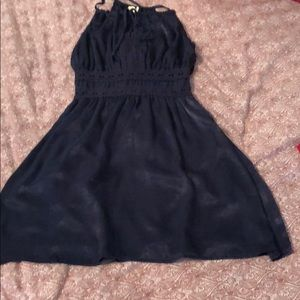 Francesca's navy dress